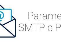 Parametri email SMTP e POP3