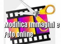 Modificare immagini online